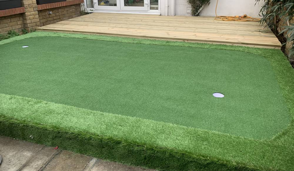 Artificial Putting Green for small spaces